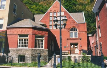 Library in JimThorpe, PA - formerly Mauch Chunk