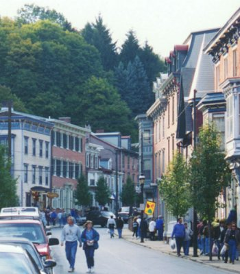 Main Street, JimThorpe- formerly Mauch Chunk - PA