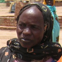 Photo of refugee from Darfur with permission from Physicians for Human Rights